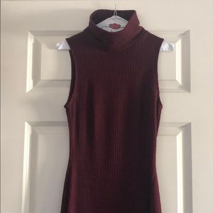 Urban Outfitters turtleneck body con dress